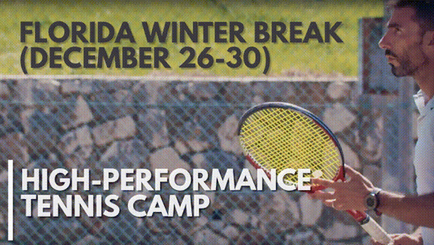 High Performance Winter Break Tennis Camp