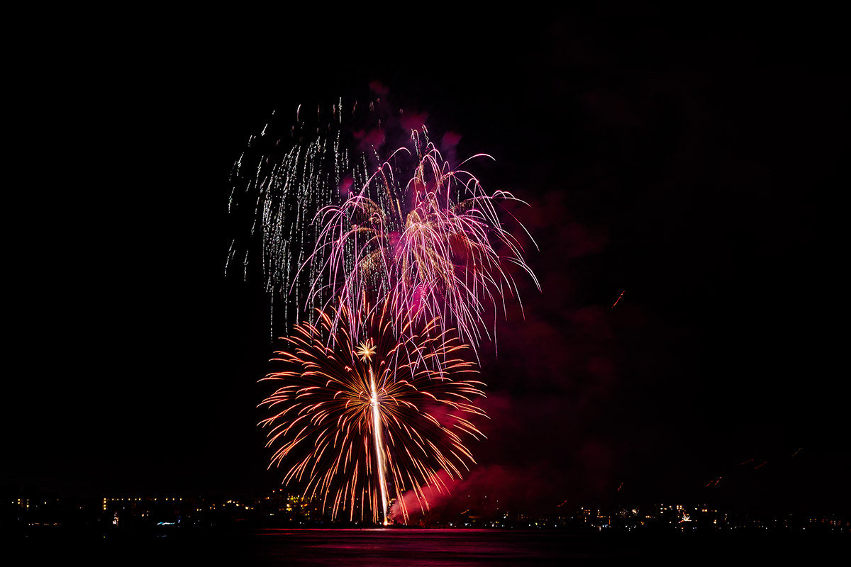 fireworks on siesta key, fl